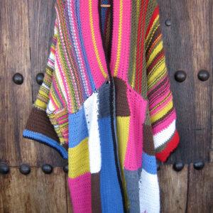 abrigo patchwork