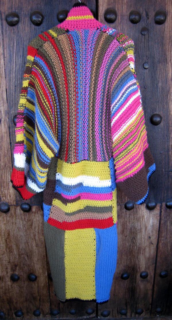 abrigo de lana de colores