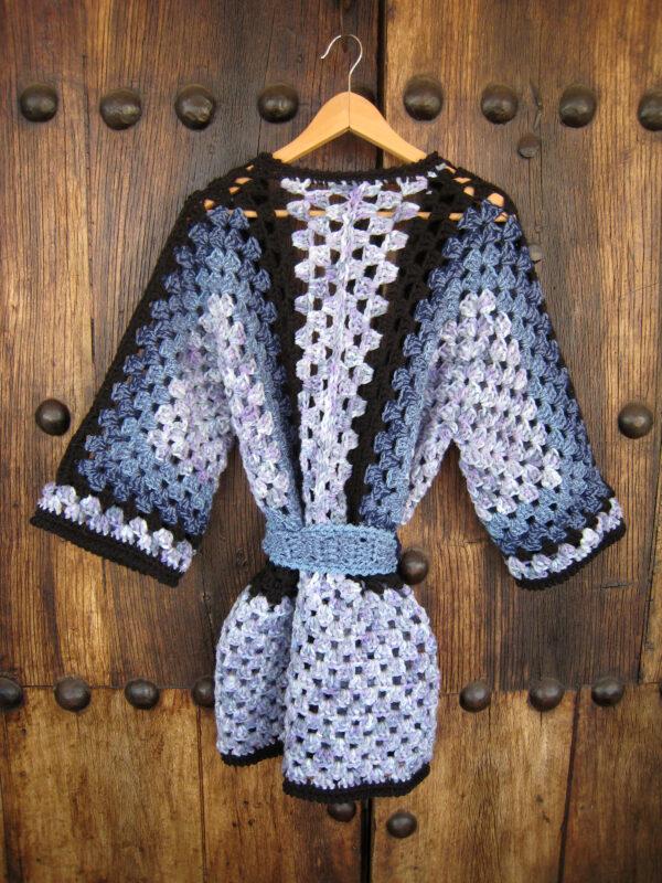 abrigo de crochet